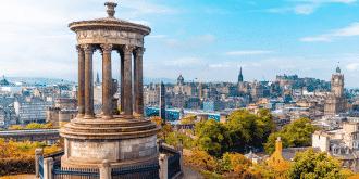 Levné letenky do Edinburgu