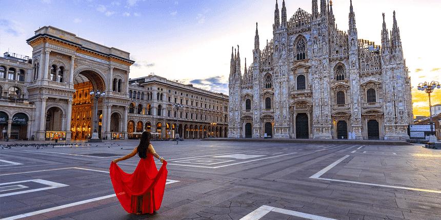 Levné letenky do Milána